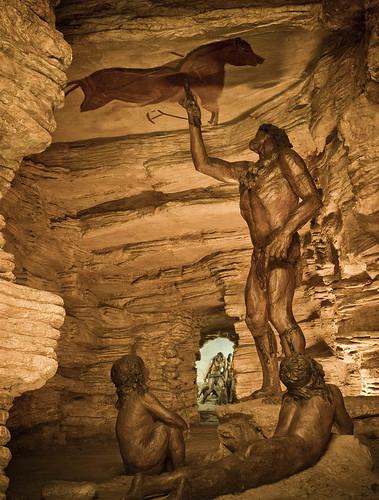 Diorama de la cova d'Altamira by Patrimoni. Generalitat de Catalunya.