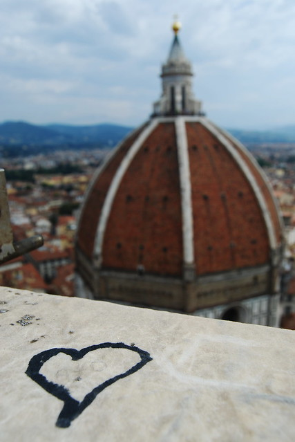 From atop the bell tower, Florence