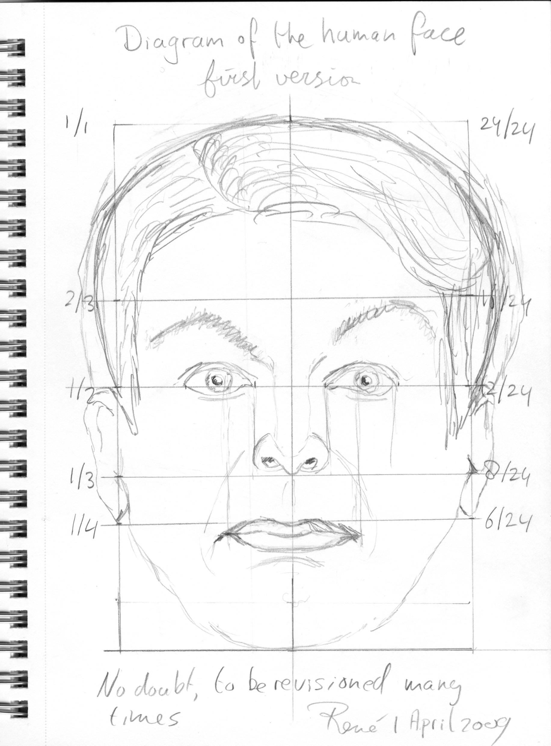 Diagram Of The Human Face