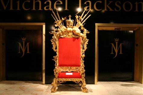 Michael Jackson's Throne