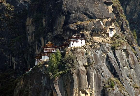 Taktsang - the tiger's nest temple
