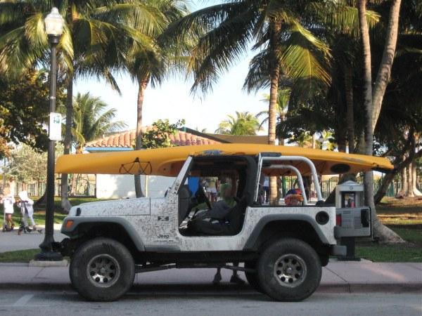 Ocean Drive Sea Kayak Jeep