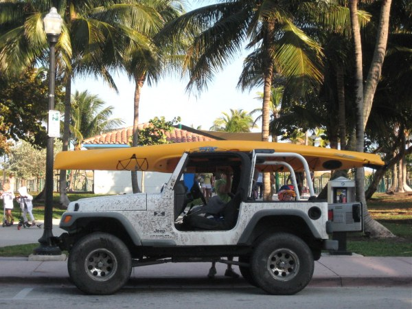 Ocean Drive Sea Kayak Jeep