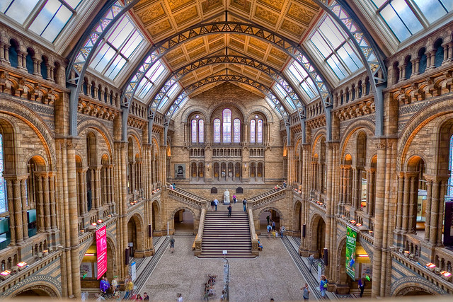 Natural History Museum em Londres