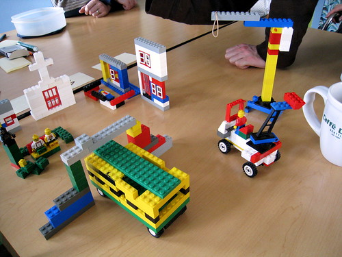 Scrum Lego game, a form of Agile Training