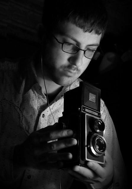 Self Portrait with my Ikoflex