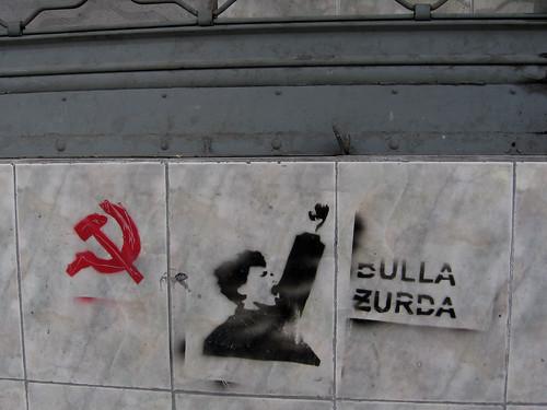 north Quito (near Parque El Ejido), Ecuador: 3 stencils [2007-2008]