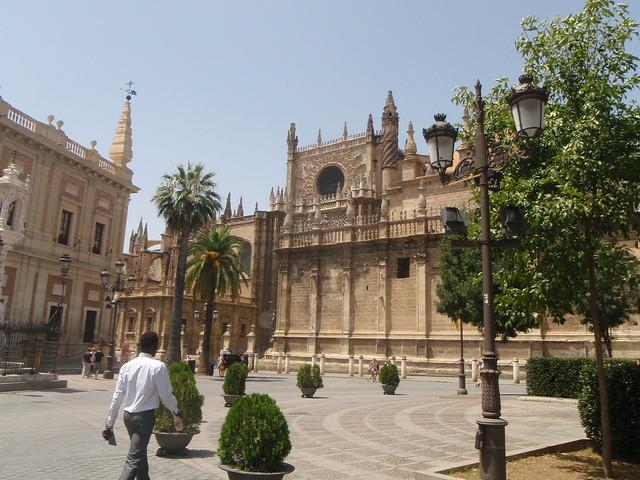 Le Jardin des orangers au coeur de la cathédrale de Séville