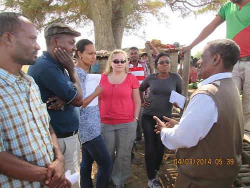 DFATD gender specialist visit LIVES sites