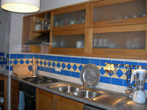 our first kitchen
