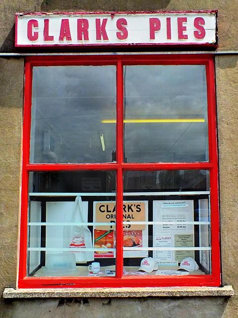 Clarks Pie shop