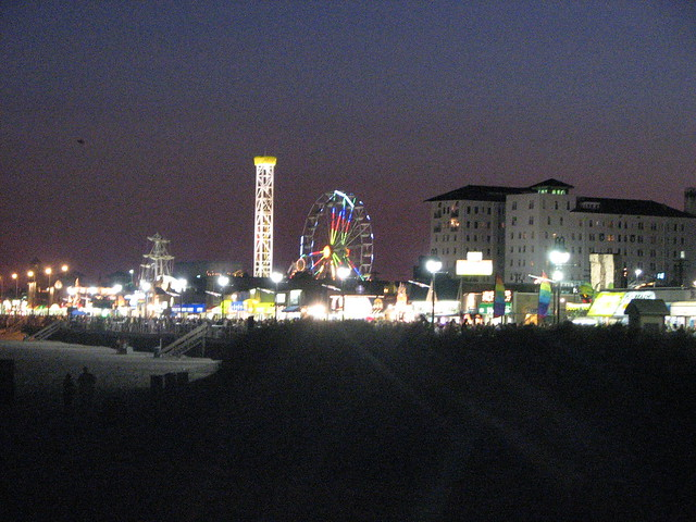 Wildwood Boardwalk Night