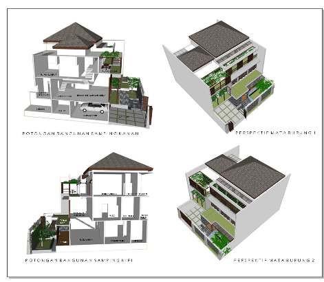Rumah Ramah Lingkungan Eco Design Eco Friendly Model Ru