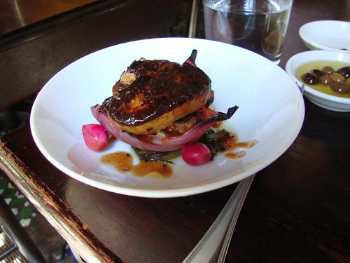 Foie Gras with Cinco Cebollas