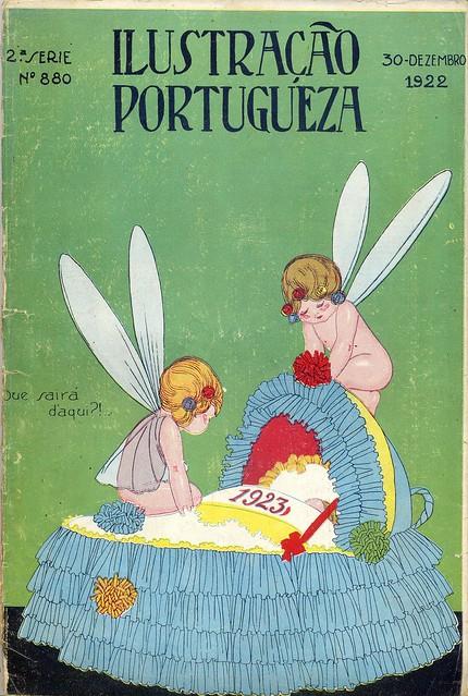 Ilustração Portugueza, No. 880, December 30 1922 - cover