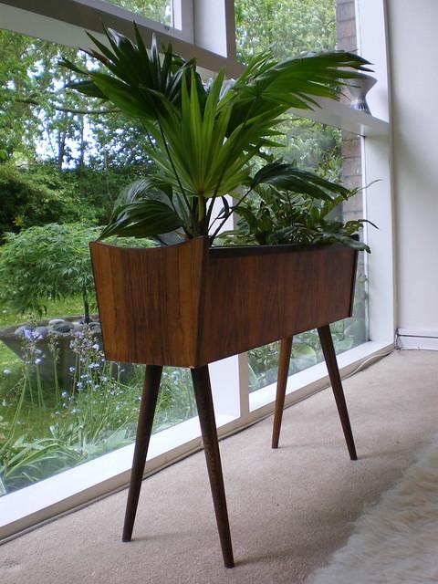 Danish Rosewood interior planter.