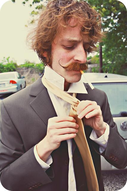 Mustache Groom