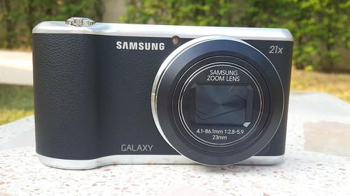 ด้านหน้าของ Samsung Galaxy Camera 2