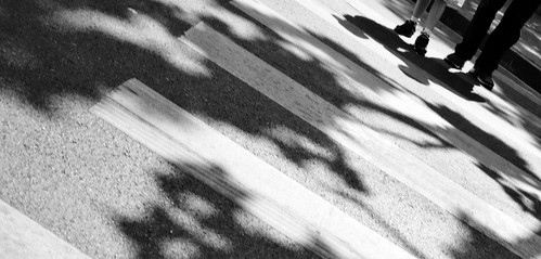 Shadows Crossing with Dad 1-1002216 by itsmarkinshanghai