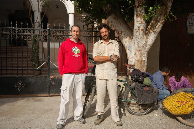 Me and Matthew at the church in Qusiya