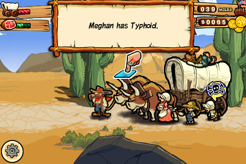Oregon Trail for the iPhone