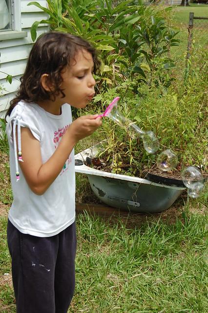 blowing bubbles 5