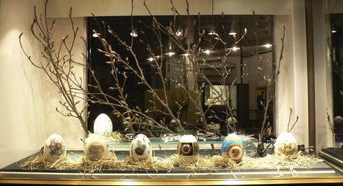 Easter store window by shop window