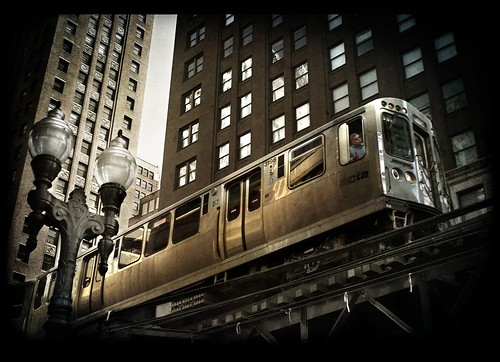 The El on Wabash by Smoothfoote
