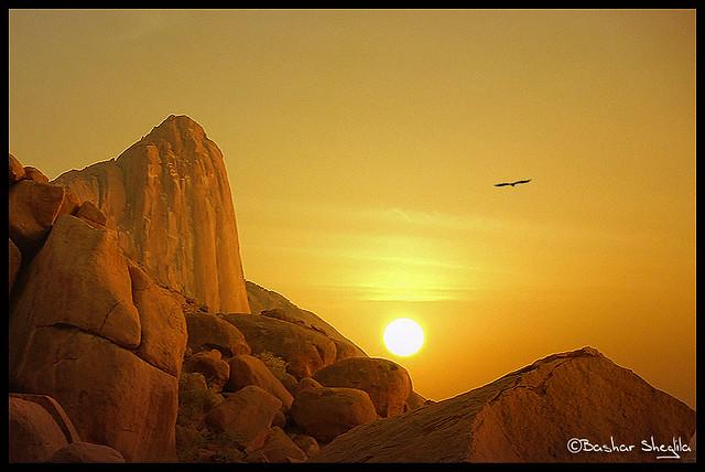 Taka Mountains sunset !