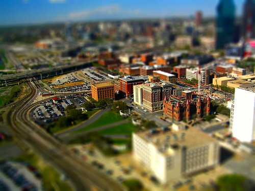 Dealey Plaza tilt–shift - foto: Jan Brašna, flickr