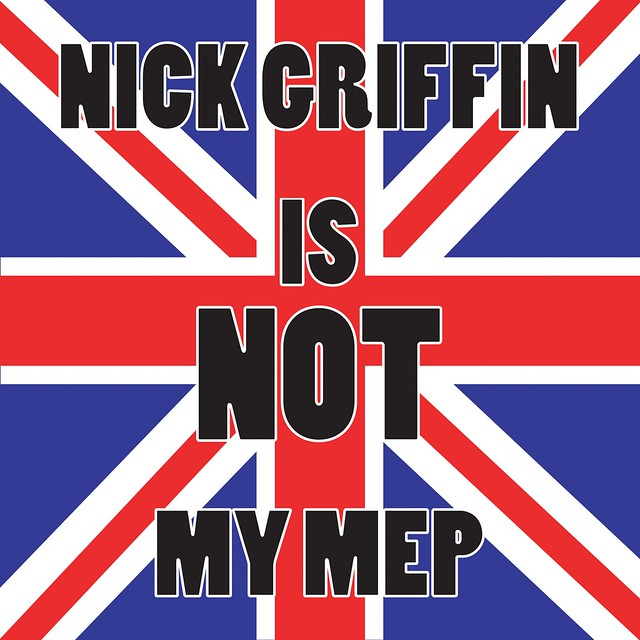 Nick Griffin is not my MEP