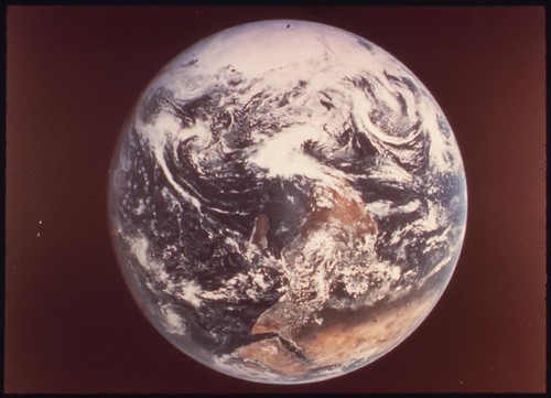 Earth, as Seen by Astronauts Eugene Cernan, Ronald Evans and Harrison Schmitt from Apollo 17