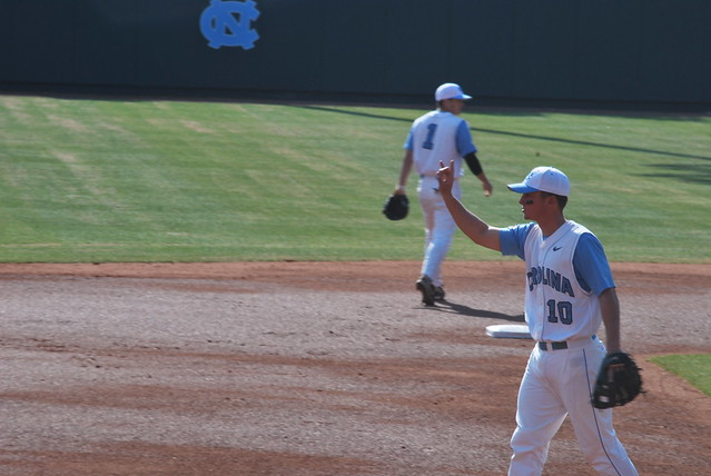 baseball: clemson at unc, game 1