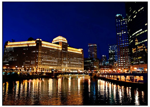 Merchandise Mart Reflects