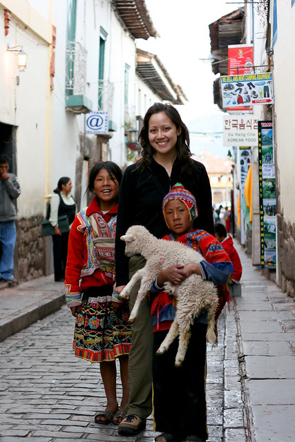 On the Streets of Cusco