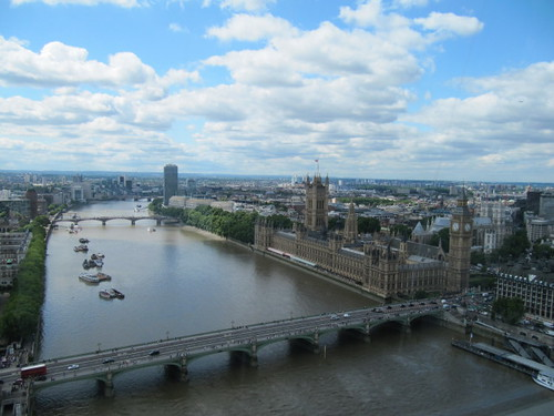 The River Thames at Westminster