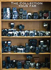 The Camera Collection Thus far by vintage cameras 