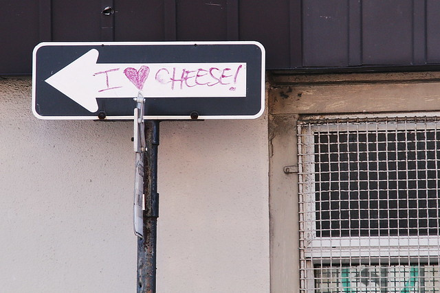I love cheese!
