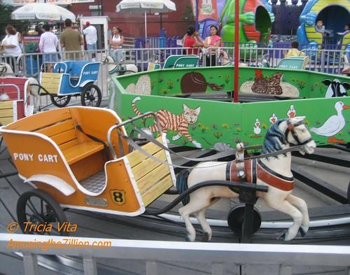 Mangels Pony Cart Ride