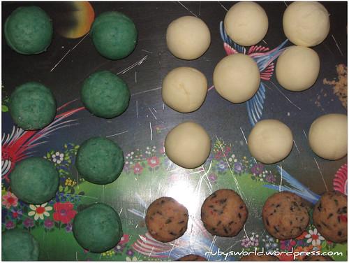 Badebomben versuch 2+3 - Milch + Veilchenl