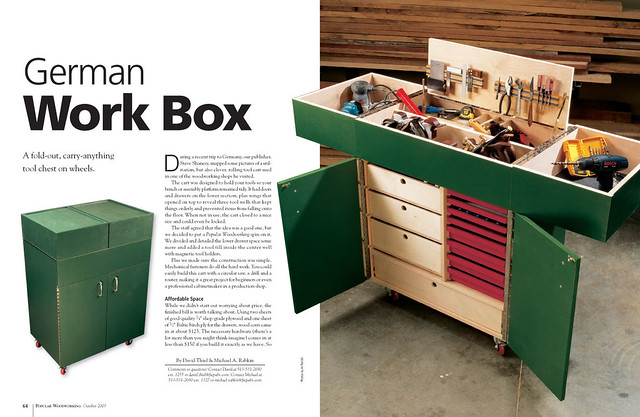German Work Box | Explore Popular Woodworking's photos on Fl ...