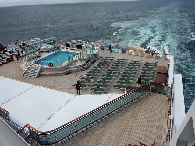Queen Mary 2 QM2 Deck Transatlantic Crossing