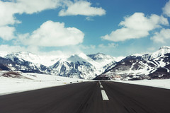 Telluride Airport by Chrissie White