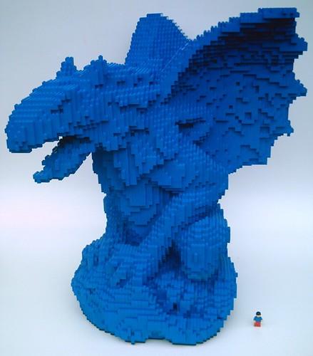 LEGO Gargoyle - minifig