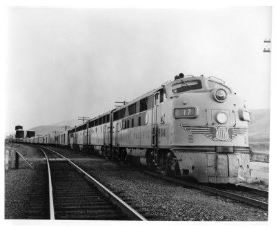 Union Pacific Portland Rose in Wyoming in 1952