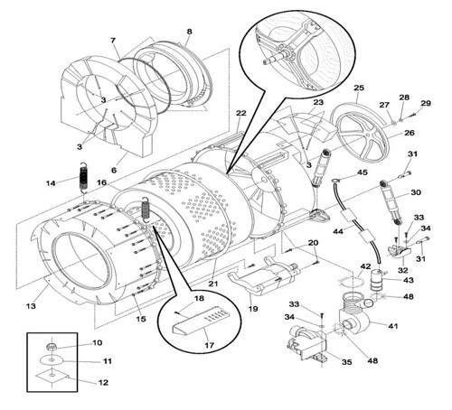 Diagram Diagram Ge Front Loading Washer File Qr35195