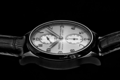Parnis Power Reserve vintage look