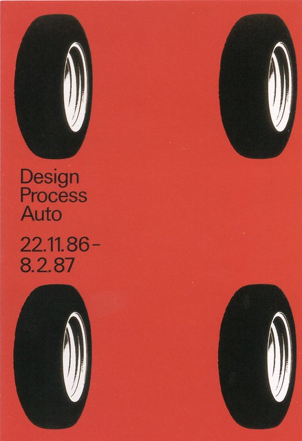 Pierre Mendell, Mendell & Oberer. Design Process Auto. Die Neue Sammlung - The International Design Museum. 1986