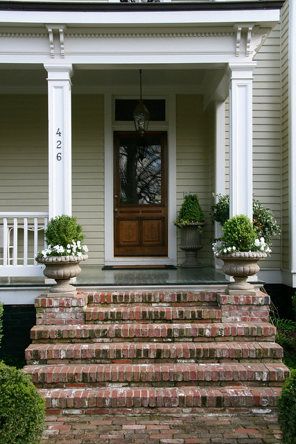 Wrapped Columns Porch