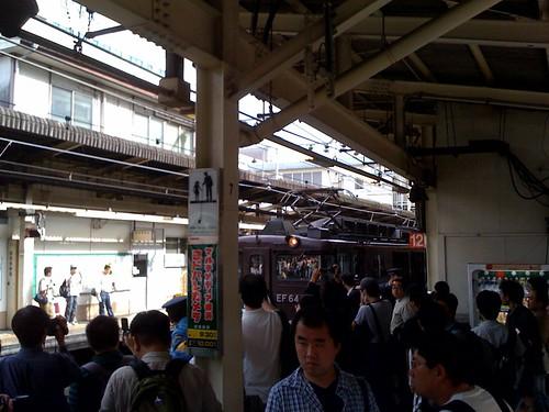鉄ちゃん集合 イン 横浜駅